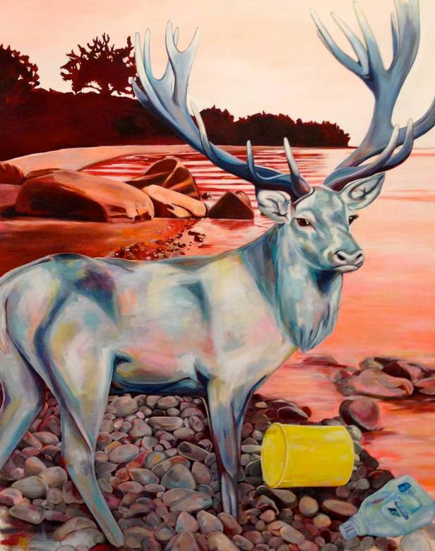 paintings, aesthetic, animal, colorful, landscape, pop, animals, nature, oceans, sky, wildlife, blue, brown, violet, acrylic, flax-canvas, beach, beautiful, contemporary-art, copenhagen, danish, design, detailed, interior, interior-design, modern, modern-art, naturalism, nordic, romantic, scandinavien, Buy original high quality art. Paintings, drawings, limited edition prints & posters by talented artists.