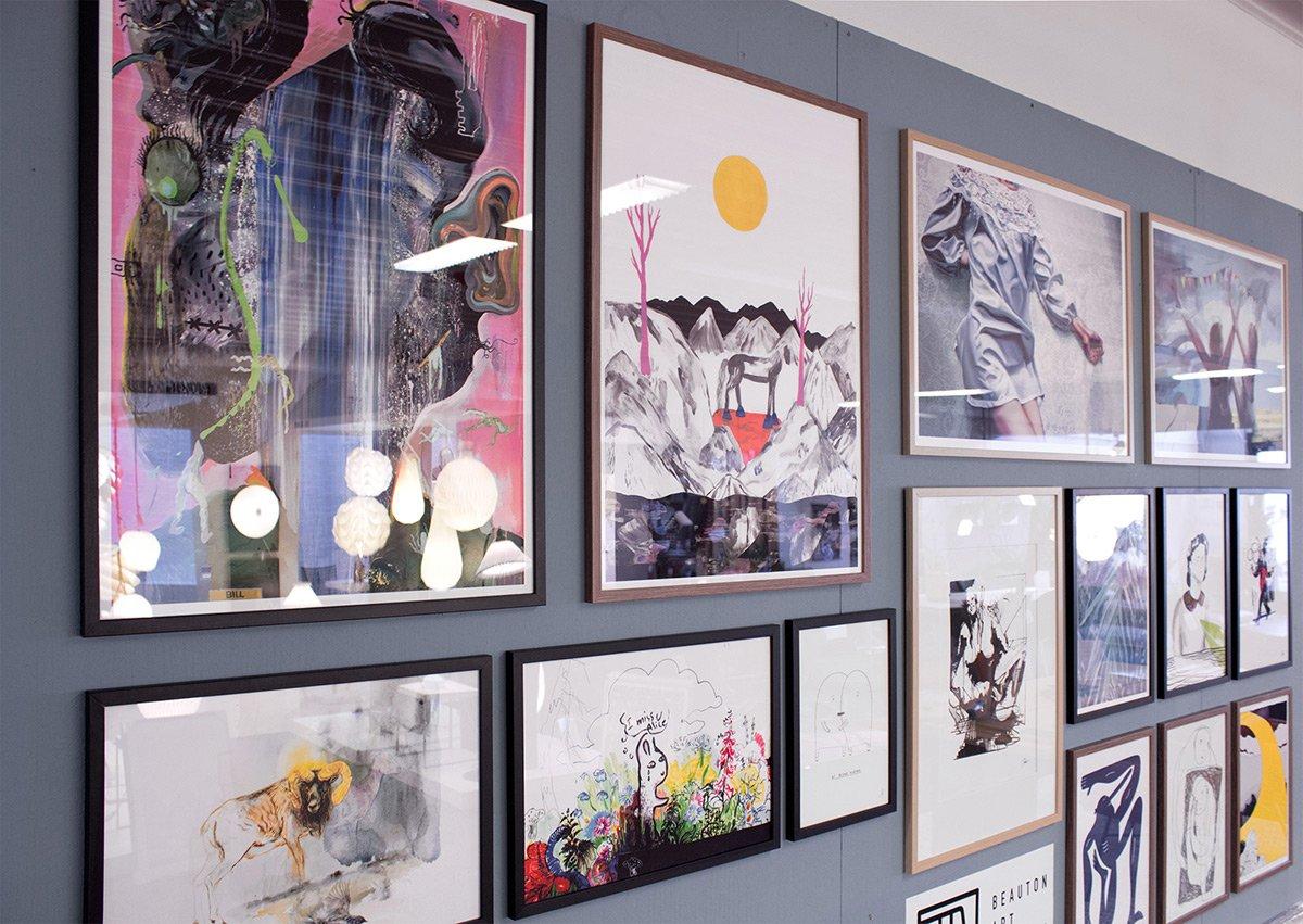 Buy limited edition art posters and prints | Køb kunstplakater, kunsttryk og plakater online - Bill - Piotr Dudek, Louise Bech Pedersen, Aleksandra Kalisz, Mormor