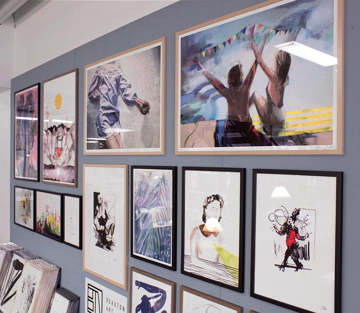 Buy limited edition art posters and prints | Køb kunstplakater, kunsttryk og plakater online