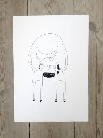 drawings, figurative, graphical, pop, portraiture, moods, black, white, artliner, ink, paper, amusing, copenhagen, cute, danish, design, interior, interior-design, love, nordic, romantic, scandinavien, street-art, Buy original high quality art. Paintings, drawings, limited edition prints & posters by talented artists.