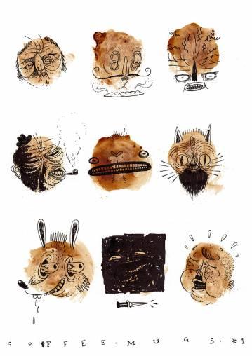original punk drawings, vulgar drawing, fantastic illustration. illustration. expressive modern art. talented artists, online art gallery