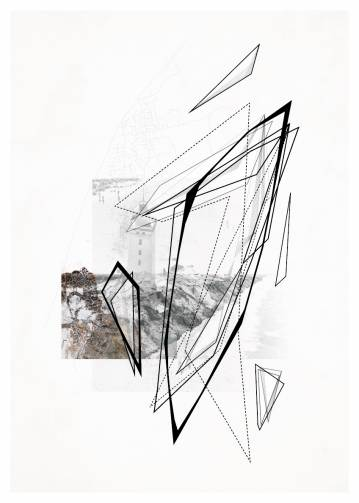 art-prints, photographs, new-media, geometric, graphical, monochrome, architecture, movement, beige, black, white, paper, abstract-forms, architectural, beach, design, interior, interior-design, mountains, scenery, Buy original high quality art. Paintings, drawings, limited edition prints & posters by talented artists.