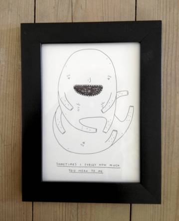 drawings, family-friendly, graphical, minimalistic, pop, humor, moods, black, white, ink, paper, amusing, danish, decorative, design, interior, interior-design, love, modern, modern-art, nordic, romantic, scandinavien, street-art, Buy original high quality art. Paintings, drawings, limited edition prints & posters by talented artists.