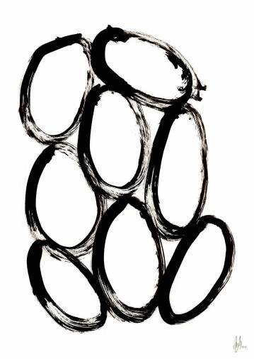 art-prints, gliceé, abstract, aesthetic, family-friendly, graphical, minimalistic, monochrome, movement, patterns, black, white, ink, paper, abstract-forms, black-and-white, contemporary-art, danish, design, interior, interior-design, modern, modern-art, nordic, posters, scandinavien, Buy original high quality art. Paintings, drawings, limited edition prints & posters by talented artists.