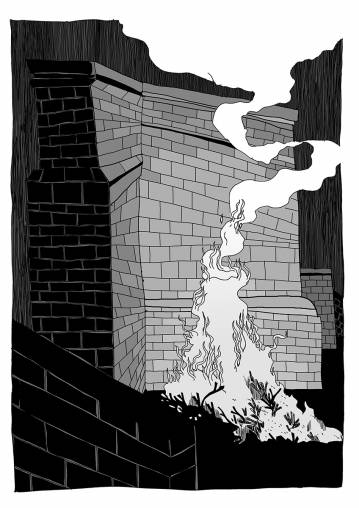 art-prints, gliceé, graphical, illustrative, monochrome, architecture, cartoons, black, grey, white, paper, black-and-white, buildings, comics, sketches, Buy original high quality art. Paintings, drawings, limited edition prints & posters by talented artists.