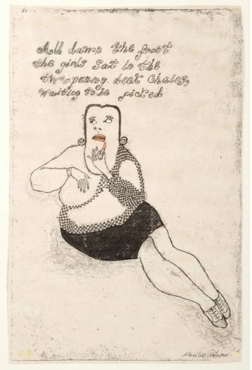 lipstick monika petersersen graham greene lady art, online galleries, drawings, details interior design