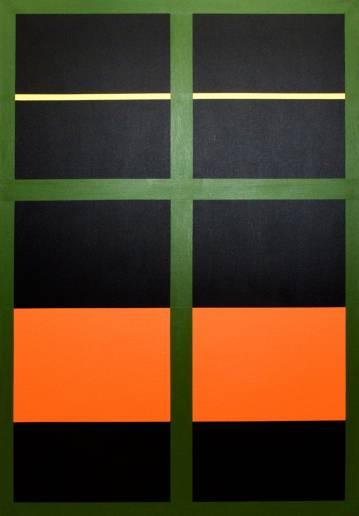 best art online, talented artists, aesthetic, minimalist painting, simple, stylish, orange, , graphic, design