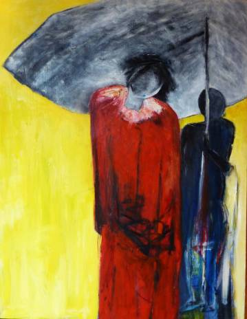 Art, Abstract paintings, rich colors red, yellow, gray, blue, amazing and skilled artists, online Art Galleries