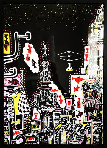 art-prints, gliceé, animal, colorful, geometric, pop, architecture, patterns, pets, sky, black, red, white, yellow, paper, architectural, atmosphere, buildings, street-art, vivid, Buy original high quality art. Paintings, drawings, limited edition prints & posters by talented artists.