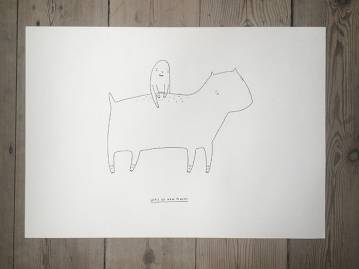 drawings, animal, family-friendly, graphical, illustrative, pop, bodies, cartoons, children, humor, livestock, black, white, artliner, paper, amusing, black-and-white, cute, family, female, horizontal, horses, kids, sketch, tranquil, Buy original high quality art. Paintings, drawings, limited edition prints & posters by talented artists.