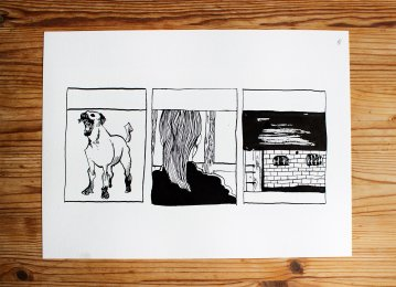 drawings, figurative, illustrative, portraiture, architecture, cartoons, everyday life, pets, black, white, ink, paper, black-and-white, buildings, contemporary-art, dogs, modern, modern-art, sketch, Buy original high quality art. Paintings, drawings, limited edition prints & posters by talented artists.