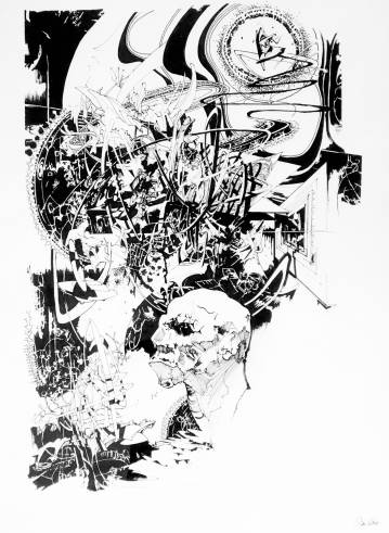 drawings, abstract, expressive, monochrome, portraiture, surrealistic, architecture, bodies, people, black, white, paper, marker, abstract-forms, black-and-white, decorative, expressionism, faces, interior, interior-design, men, Buy original high quality art. Paintings, drawings, limited edition prints & posters by talented artists.