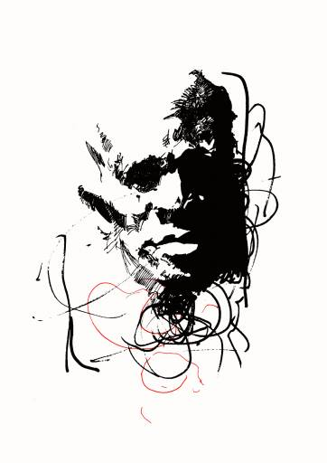 art-prints, giclee, expressive, monochrome, patterns, people, black, white, ink, paper, black-and-white, contemporary-art, danish, design, expressionism, faces, interior, interior-design, modern, modern-art, nordic, posters, prints, scandinavien, Buy original high quality art. Paintings, drawings, limited edition prints & posters by talented artists.