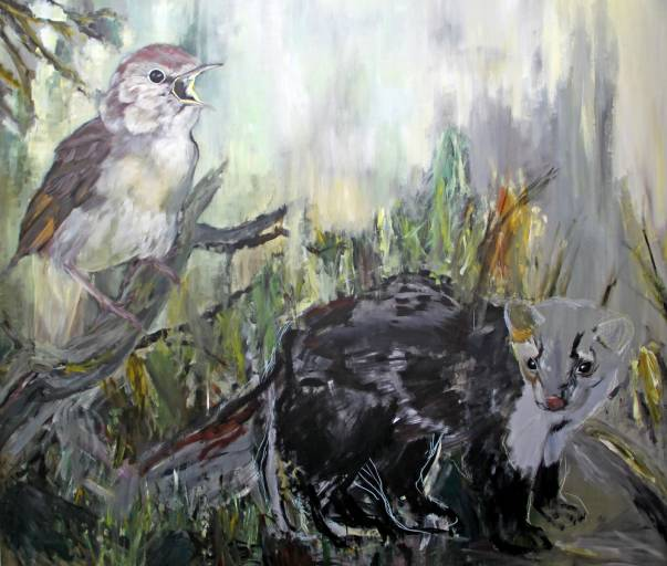 paintings, animal, colorful, figurative, illustrative, landscape, animals, botany, insects, wildlife, brown, green, grey, acrylic, flax-canvas, oil, autumn, contemporary-art, danish, design, interior, interior-design, modern, modern-art, nordic, scandinavien, Buy original high quality art. Paintings, drawings, limited edition prints & posters by talented artists.