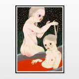 posters-prints, paintings, giclee-print, colorful, figurative, illustrative, surrealistic, bodies, people, sexuality, beige, grey, red, ink, paper, contemporary-art, decorative, design, female, feminist, interior, interior-design, love, modern, modern-art, naturalism, nude, women, Buy original high quality art. Paintings, drawings, limited edition prints & posters by talented artists.