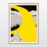posters-prints, giclee-print, abstract, graphical, illustrative, landscape, cartoons, movement, nature, black, grey, yellow, paper, abstract-forms, contemporary-art, danish, decorative, design, interior, interior-design, modern, modern-art, nordic, posters, prints, scandinavien, scenery, Buy original high quality art. Paintings, drawings, limited edition prints & posters by talented artists.