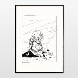posters-prints, giclee-print, family-friendly, graphical, landscape, monochrome, children, humor, sky, black, white, ink, paper, amusing, atmosphere, black-and-white, contemporary-art, cute, danish, decorative, design, interior, interior-design, modern, modern-art, nordic, posters, prints, Buy original high quality art. Paintings, drawings, limited edition prints & posters by talented artists.