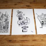 art-prints, gliceé, family-friendly, graphical, illustrative, monochrome, pop, architecture, bodies, humor, people, black, white, ink, paper, amusing, black-and-white, buildings, danish, decorative, design, interior, interior-design, men, modern, modern-art, nordic, pop-art, posters, scandinavien, Buy original high quality art. Paintings, drawings, limited edition prints & posters by talented artists.