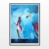 posters-prints, giclee-print, aesthetic, colorful, figurative, graphical, illustrative, pop, bodies, everyday life, oceans, blue, red, ink, paper, beach, beautiful, contemporary-art, interior, interior-design, love, modern, modern-art, nordic, party, posters, romantic, scandinavien, water, Buy original high quality art. Paintings, drawings, limited edition prints & posters by talented artists.