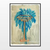 posters-prints, giclee-print, aesthetic, figurative, graphical, illustrative, architecture, botany, nature, technology, beige, blue, brown, orange, turquoise, ink, paper, architectural, contemporary-art, copenhagen, danish, design, interior, interior-design, modern, modern-art, nordic, plants, posters, prints, scandinavien, trees, Buy original high quality art. Paintings, drawings, limited edition prints & posters by talented artists.