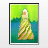 posters-prints, giclee-print, aesthetic, colorful, figurative, graphical, portraiture, bodies, patterns, people, beige, blue, green, pink, turquoise, ink, paper, beautiful, contemporary-art, danish, decorative, female, interior, interior-design, modern, modern-art, nordic, posters, scandinavien, women, Buy original high quality art. Paintings, drawings, limited edition prints & posters by talented artists.
