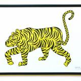 art-prints, serigraphs, animal, colorful, family-friendly, pop, animals, botany, cartoons, nature, wildlife, black, yellow, ink, paper, amusing, contemporary-art, danish, decorative, design, interior, interior-design, modern, modern-art, nightlife, nordic, posters, scandinavien, Buy original high quality art. Paintings, drawings, limited edition prints & posters by talented artists.