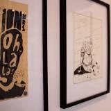 drawing original illustration. expressive modern art. talented artists, online art gallery