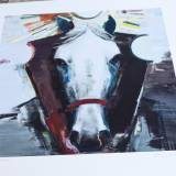 art-prints, gliceé, aesthetic, animals, family-friendly, livestock, brown, grey, white, ink, paper, expressionism, horses, men, Buy original high quality art. Paintings, drawings, limited edition prints & posters by talented artists.