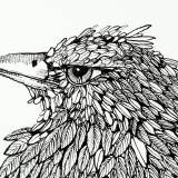 illustration. Expressive modern art. animals. talented artists, online art gallery.
