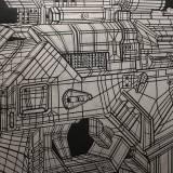 art-prints, linocuts, figurative, geometric, graphical, monochrome, pop, patterns, science, black, silver, ink, paper, danish, decorative, interior, interior-design, modern, modern-art, nordic, pop-art, scandinavien, street-art, Buy original high quality art. Paintings, drawings, limited edition prints & posters by talented artists.