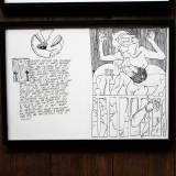 drawings, graphical, illustrative, monochrome, portraiture, bodies, cartoons, sexuality, black, white, artliner, paper, marker, erotic, men, nude, sexual, Buy original high quality art. Paintings, drawings, limited edition prints & posters by talented artists.