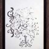drawings, aesthetic, graphical, illustrative, botany, sky, black, white, artliner, paper, abstract-forms, contemporary-art, danish, design, forest, interior, interior-design, modern, modern-art, nordic, scandinavien, trees, Buy original high quality art. Paintings, drawings, limited edition prints & posters by talented artists.