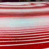 IMPOSSIBLE RAINBOW_ linocut_red_detail