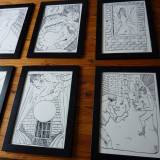 drawings, figurative, illustrative, portraiture, bodies, cartoons, everyday life, sexuality, black, white, paper, marker, erotic, nude, sexual, sketch, Buy original high quality art. Paintings, drawings, limited edition prints & posters by talented artists.