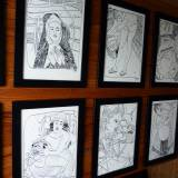 drawings, figurative, illustrative, portraiture, bodies, cartoons, moods, sexuality, black, white, paper, marker, erotic, men, nude, sexual, sketch, Buy original high quality art. Paintings, drawings, limited edition prints & posters by talented artists.