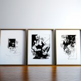 posters-prints, giclee-print, abstract, aesthetic, figurative, monochrome, portraiture, bodies, patterns, sexuality, black, white, ink, paper, black-and-white, contemporary-art, danish, decorative, design, erotic, interior, interior-design, modern, modern-art, nordic, nude, posters, prints, scandinavien, sexual, Buy original high quality art. Paintings, drawings, limited edition prints & posters by talented artists.