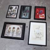 No Sense, 21x29,7 cm,  drawing, gift, home furnishing, Louise Bech Pedersen