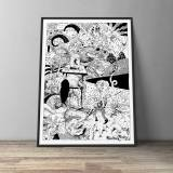 art-prints, gliceé, animal, graphical, illustrative, monochrome, portraiture, surrealistic, bodies, cartoons, humor, movement, wildlife, black, white, ink, paper, abstract-forms, amusing, atmosphere, black-and-white, contemporary-art, danish, interior, interior-design, modern, modern-art, nordic, posters, prints, Buy original high quality art. Paintings, drawings, limited edition prints & posters by talented artists.