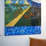 paintings, abstract, colorful, expressive, figurative, illustrative, landscape, nature, sky, blue, brown, green, yellow, acrylic, flax-canvas, abstract-forms, autumn, contemporary-art, copenhagen, danish, design, interior-design, modern, modern-art, mountains, nordic, scandinavien, Buy original high quality art. Paintings, drawings, limited edition prints & posters by talented artists.