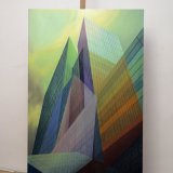 paintings, aesthetic, colorful, figurative, graphical, still-life, architecture, patterns, sky, technology, blue, green, turquoise, flax-canvas, oil, architectural, beautiful, buildings, cities, design, interior, interior-design, modern, modern-art, naturalism, photorealistic, pretty, Buy original high quality art. Paintings, drawings, limited edition prints & posters by talented artists.