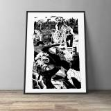 art-prints, gliceé, illustrative, monochrome, portraiture, surrealistic, bodies, cartoons, movement, black, white, paper, black-and-white, danish, design, interior, interior-design, modern, modern-art, nordic, posters, prints, realism, scandinavien, sketch, Buy original high quality art. Paintings, drawings, limited edition prints & posters by talented artists.