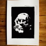 art-prints, gliceé, abstract, expressive, monochrome, people, black, white, ink, paper, black-and-white, contemporary-art, danish, decorative, design, expressionism, faces, interior, interior-design, modern, modern-art, nordic, posters, prints, Buy original high quality art. Paintings, drawings, limited edition prints & posters by talented artists.