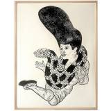 art-prints, linocuts, animal, figurative, illustrative, pop, portraiture, bodies, sexuality, wildlife, black, white, acrylic, paper, black-and-white, bright, contemporary-art, decorative, design, female, horizontal, interior, interior-design, modern, pop-art, posters, prints, retro, sexual, wild-animals, women, Buy original high quality art. Paintings, drawings, limited edition prints & posters by talented artists.