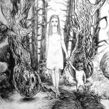 drawings, aesthetic, figurative, landscape, monochrome, botany, nature, wildlife, black, white, paper, pencils, contemporary-art, decorative, girls, interior, interior-design, modern, modern-art, nordic, plants, romantic, scenery, trees, wild-animals, Buy original high quality art. Paintings, drawings, limited edition prints & posters by talented artists.