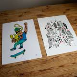 art-prints, gliceé, family-friendly, figurative, illustrative, minimalistic, portraiture, bodies, humor, sport, blue, green, turquoise, yellow, ink, paper, amusing, boys, contemporary-art, danish, decorative, design, interior, interior-design, men, modern, modern-art, nordic, pop-art, posters, scandinavien, Buy original high quality art. Paintings, drawings, limited edition prints & posters by talented artists.