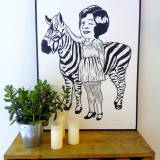 linocuts, animal, family-friendly, illustrative, pop, bodies, children, humor, wildlife, black, white, acrylic, black-and-white, danish, design, girls, interior, interior-design, modern, modern-art, nordic, posters, prints, scandinavien, wild-animals, Buy original high quality art. Paintings, drawings, limited edition prints & posters by talented artists.