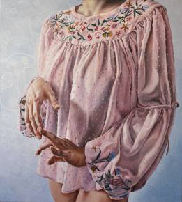 paintings, figurative, portraiture, bodies, people, sexuality, textiles, beige, blue, pastel, pink, white, cotton-canvas, oil, beautiful, clothing, contemporary-art, decorative, erotic, female, feminist, flowers, interior, interior-design, modern, modern-art, women, Buy original high quality art. Paintings, drawings, limited edition prints & posters by talented artists.