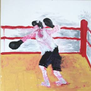 paintings, expressive, figurative, bodies, movement, people, sport, brown, red, white, acrylic, cotton-canvas, amusing, decorative, design, expressionism, female, feminist, interior, interior-design, vibrant, women, Buy original high quality art. Paintings, drawings, limited edition prints & posters by talented artists.