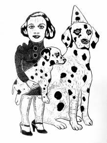 expressive art illustrations and drawings, talented Danish illustrator, cartoonist