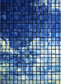 paintings, figurative, geometric, architecture, movement, patterns, sky, black, blue, green, cotton-canvas, oil, architectural, atmosphere, buildings, copenhagen, danish, decorative, design, interior, interior-design, natural, naturalism, nordic, scandinavien, Buy original high quality art. Paintings, drawings, limited edition prints & posters by talented artists.